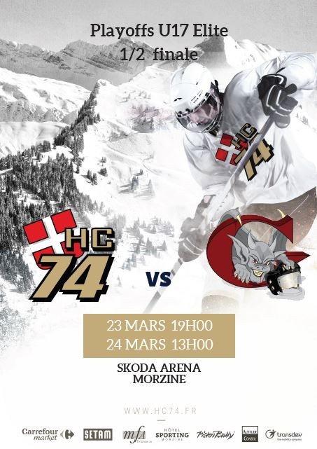 Ce week-end 1/2 finale U17 Elite à Morzine