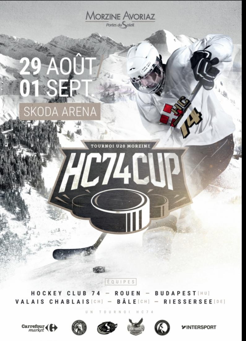 Résultats HC74 cup (Tournoi International U20)